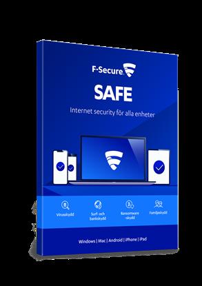 Bild på F-Secure Safe 5 användare (årskostnad)